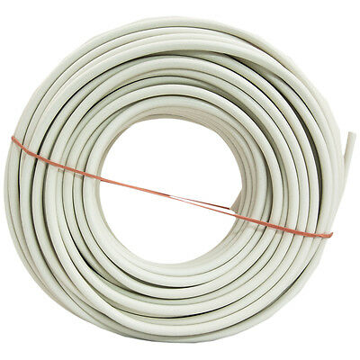 Southwire 100-ft 18-AWG RG6 White Coax Cable Indoor and Outdoor for aAudio/Video