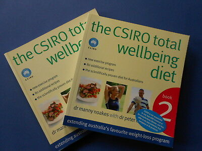 ## The Csiro Total Wellbeing Diet - Book 2 - Manny Noakes **like New