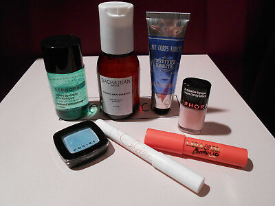 Lot de 7 produits - Sephora, Birchbox, Nocibé, My Little Box, Prescrption Lab