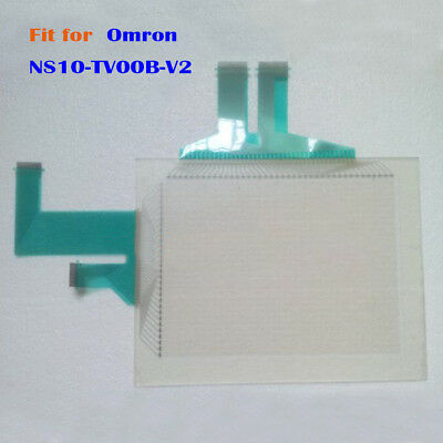 New for Omron NS10-TV00B-V2, NS10TV00BV2 Touch Screen Glass