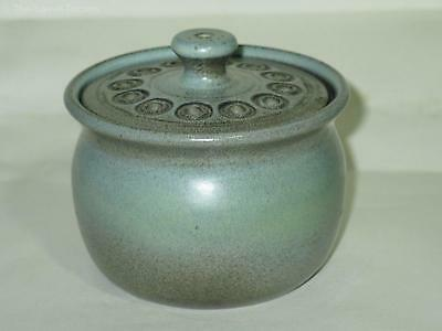 Eric Juckert Lidded Bowl. Australian Pottery