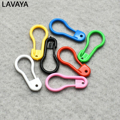 "100pcs 7/8""Length Colorful Plastic Safety Pins For Label Tags Fasteners Charms"