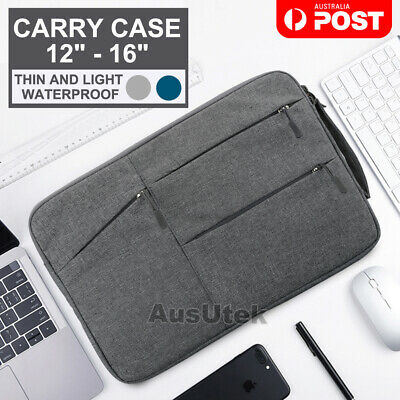 "Waterproof Laptop Sleeve Carry Case Cover Bag Macbook Lenovo Dell HP 12"" 13"" 15"""