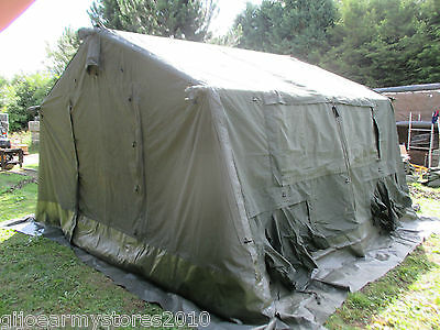 British Army 12x12 Frame Tent Mk2 Military Catering Cadet Event Mess Marquee