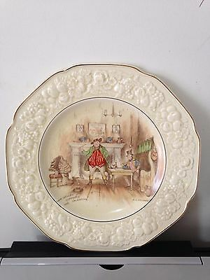 Vintage Crown Ducal Florentine Sam Weller Plate