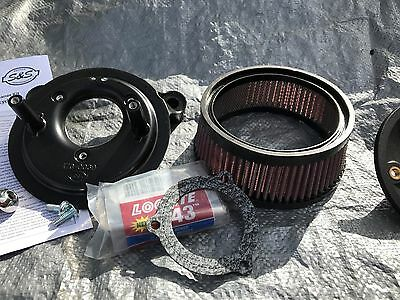 Harley Davidson S and S high flow Air filter