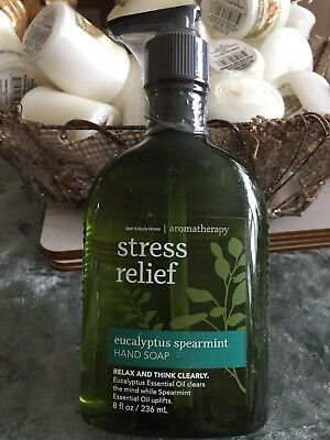 Bath & Body Works Stress Relief 'Eucalyptus Spearmint' Hand Soap