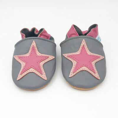 *SECONDS* GIRLS 3-4 YEARS - Dotty Fish Soft Leather Baby and Toddler Shoes