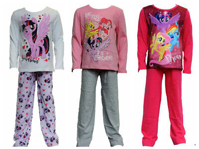 Girls My Little Pony Cotton Long Sleeve Pyjamas Set Age 4 years up to 10 years