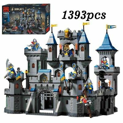 ENLIGHTEN 1393PCS Medieval Knight Castle Assemble Building Kits Block Toy QM1023