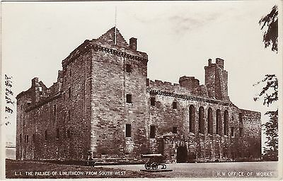The Palace From South West & Cannon, LINLITHGOW, West Lothian