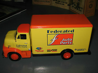1996 Ertl 1953 Ford C-500 Truck Federated Auto Parts 1:30 BANK Licensed Ford New