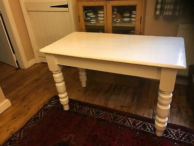 fab victorian pine painted farmhouse table