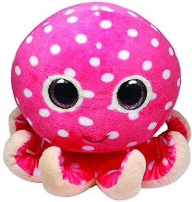 Ty Beanie Boo 15cm Ollie the Octopus Soft Plush Toy Teddy - New with Tags