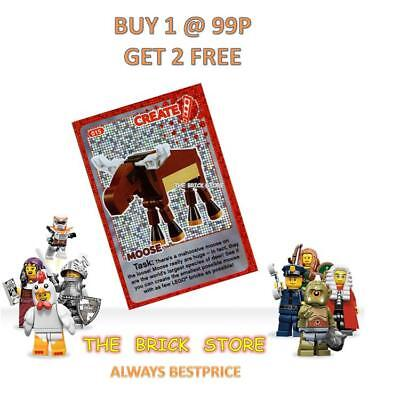 Lego - #015 - Moose - Create The World Trading Card - Bestprice + Gift - New