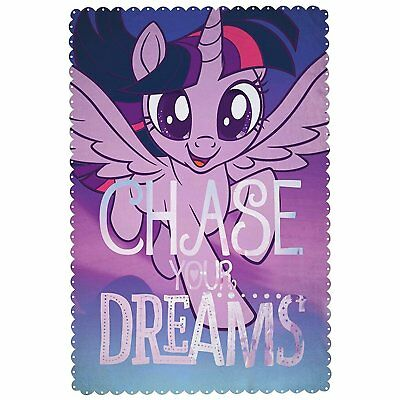 EXTRA LARGE - New My Little Pony Super Soft Fleece Blanket Girls Bed Throw Gift