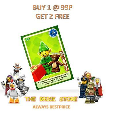 Lego #016 - Holiday Elf - Create The World Trading Card - Bestprice + Gift - New