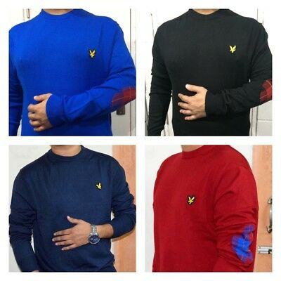 Lyle And Scott Long Sleeve Crew Neck Jumper For Men