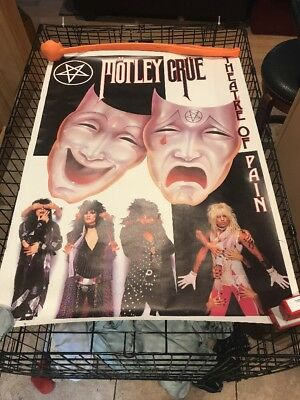 Motley Cure Vintage Poster 24x34 Theatre Of Pain
