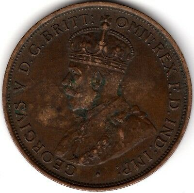 1912H Australia George V One Penny***Collectors***