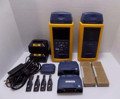 Fluke DSP-4300 Cable Analyzer & DSP-4300SR Smart Remote Kit Used