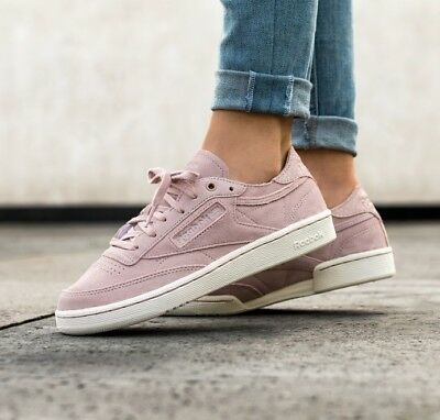 Reebok Club C 85 Decon Shell Pink Rosa Scarpe Chaussures Shoes Shuhe Zapatos
