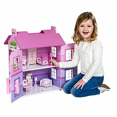Olivia's Wooden Doll House