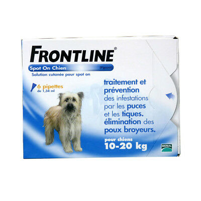 Frontline Spot-On M Chien (10-20 kg) - 6 pipettes