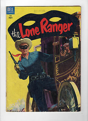 The Lone Ranger #82 (Apr 1955, Dell) - Good-