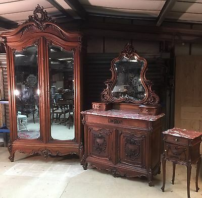 Nineteenth Century French Bedroom Suite From A Large Chateau