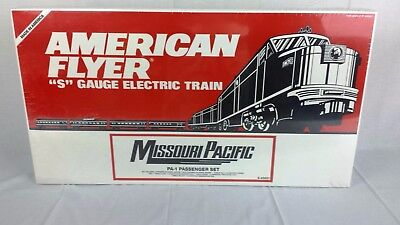 American Flyer 6-49601 Missouri Pacific PA-1 Passenger Set Factory Sealed