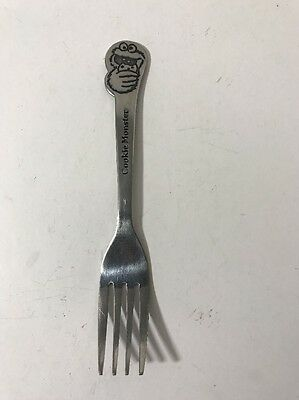 Cookie Monster Fork Sesame Street Muppets Inc. Stainless