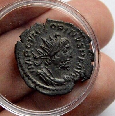 Unidentified Roman Silver British Ancient Metal Detecting Find Coin