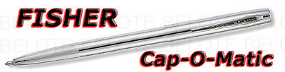 Fisher Chrome Plated Cap-O-Matic Space Pen M4C *NEW*