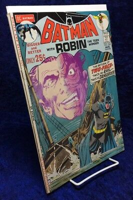 Batman #234 (1971 DC Comics) 1st appearance of Silver Age Two Face NO RESERVE