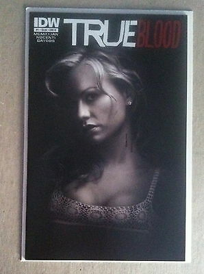 True Blood #1 B Photo Variant Cover Anna Paquin Idw First Printing Near Mint Hbo