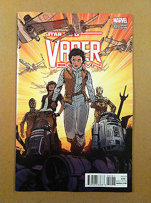 Star Wars Vader Down #1 Joelle Jones 1:25 Variant Cover Nm 1St Printing Darth