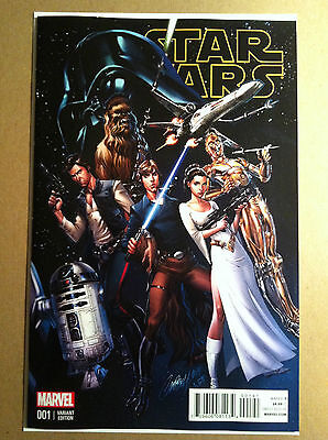Star Wars (2015) #1 J Scott Campbell 1:50 Variant Cover Nm 1St Printing
