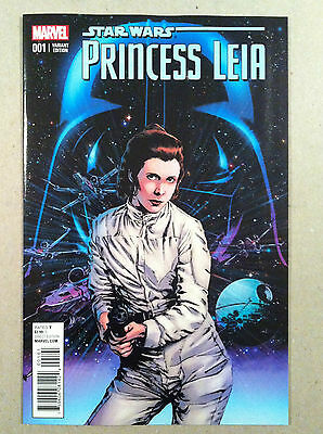 Star Wars Princess Leia #1 Butch Guice 1:25 Variant Cover Nm 1St Printing Marvel