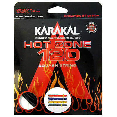 Karakal Hot Zone 120 Squash String Set **New**