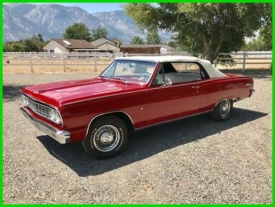 1964 Chevrolet Chevelle Malibu Convertible Original Frame On Restoration 1964 Chevrolet Chevelle Malibu Convertible, 327 V8, 4-speed Manual Transmission