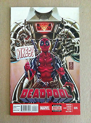 Deadpool V.3 #35 Mark Brooks Cover Gerry Duggan Brian Posehn Nm 1St Printing