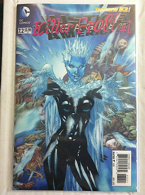 Justice League Of America #7.2 Killer Frost #1 3-D Motion Lenticular Hologram Nm