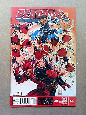 Deadpool V.3 #24 S.h.i.e.l.d. Brian Posehn Gerry Duggan Nm 1St Print Shield