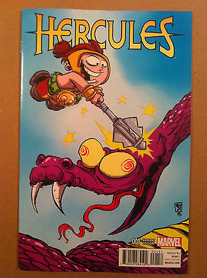Hercules (2015) #1 Skottie Young Variant Cover Nm 1St Printing Abnett Ross