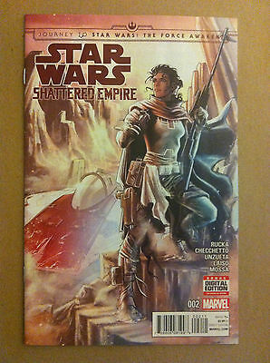 Star Wars Shattered Empire #2 Nm 1St Printing Journey To The Force Awakens Ep7
