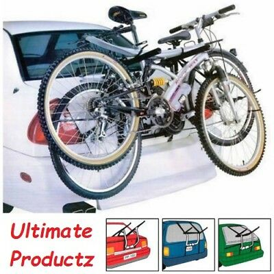 Quality 2 Bike Bicycle Carrier Car Cycle Rack - Rear Mount - Universal Fitting