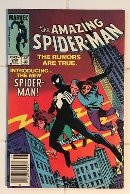 Spider-Man #252! 1st Appearance of Black Suit! Gorgeous Key Book!