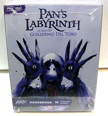 Pan's Labyrinth from Canada* Future Shop Mondo art blu-ray steelbook.New,sealed.