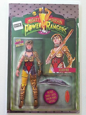 Mighty Morphin Power Rangers #9 Action Figure Variant Cover Nm 1St Printing 2016